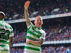 El Old Firm se tiñó de verde. Twitter/CelticFC