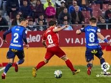 El Girona dominó el partido. LaLiga