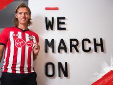 Vestergaard will soon leave Southampton. Twitter/SouthamptonFC