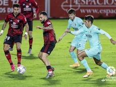 El Mirandés derrotó al Sporting. LaLiga