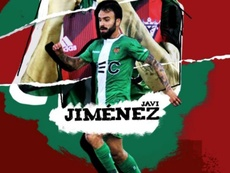 Javi Jiménez, nuevo jugador del Mirandés. Twitter/CDMirandes