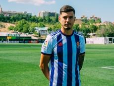 Javi Sánchez apenas ha jugado, pero podría quedarse en el club. RealValladolid