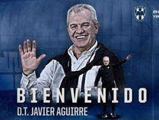 Aguirre has been appointed as Monterrey manager. Twitter/Rayados