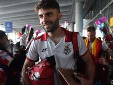 Javi Hernández jugó en el Madrid y ganó una Liga vestido como el Atlético. Twitter/IndSuperLeague