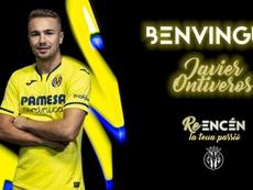 El Villarreal hizo oficial la incorporación de Javier Ontiveros. VillarrealCF