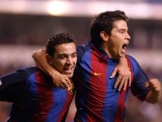Saviola tuvo buenos momentos en el Barça, pero no ganó mucho. FCBarcelona