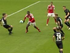 Monchengladbach fait tomber Mainz 05. Capture d'écran/Fox