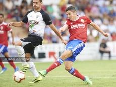 Jesús Alfaro se desvinculó del Zaragoza. RealZaragoza