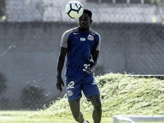 Caju abandonó Santos. Twitter/SantosFC