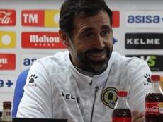 Jesús Muñoz espera un equipo sólido ante el Valencia Mestalla. Captura/HérculesCF