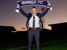 Jim McIntyre is the new Dundee United manager. Twitter/DundeeFC