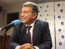 Joan Laporta aspira a ser de nuevo presidente del FC Barcelona. Captura/ElPartidazoCOPE