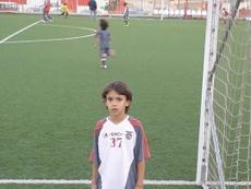 João Félix nas camadas jovens com a camisola 37. Twitter @joaofelix70