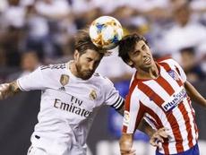 Ramos podría jugar perfectamente como delantero. EFE