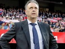 Joaquín Caparrós cargó contra la organización de la Supercopa. EFE