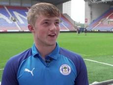 El Wigan ya ha hecho debutar a Gelhardt con 17 años. WiganAthletic