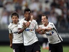 Jô reagiu após ser apontado como possível reforço do Corinthians. Twitter Corinthians