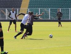 Jogadores do Figueirense encerram greve e voltarão a jogar. Captura/Globoesporte