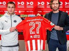La renaissance de Mario Götze au PSV. afp