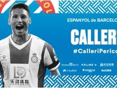 Calleri, septième recrue de l'Espanyol cet été. Twitter/RCDEspanyol