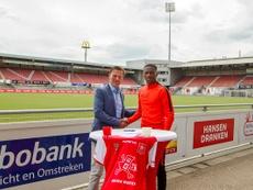 Jonathan Okita, nuevo jugador del MVV Maastrich. MVVMaastrich