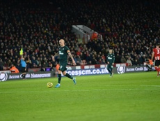Dúbravka pincha el globo del Sheffield United. NUFC
