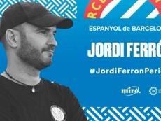 Jordi Ferrón, nuevo técnico del Espanyol femenino. Twitter/RCDEFemeni