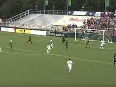 Puerto Rico FC empató a uno ante North Carolina. Youtube