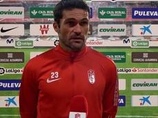 Jorge Molina analizó el Granada-Real Valladolid. Captura/GranadaCdeF