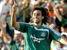 Valdivia militó en Palmeiras casi una década. Archivo