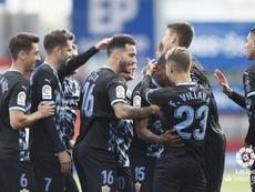 El Almería venció en el Anxo Carro. LaLiga