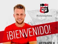 José Hermosa regresa un año después. Twitter/cfnucia