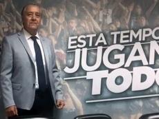 José Luis Trejo llegó al Salamanca UDS con la idea del ascenso. Captura/LaGaceta