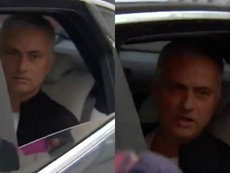 Mourinho dijo adiós al United. Captura/SkySports