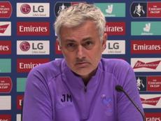 Mourinho aimerait changer le nom du VAR. Capture/Tottenham