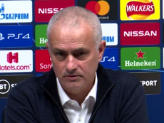 Mourinho, back to his usual antics with journalists. screenshot/AStv