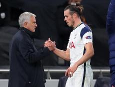 Mourinho defended Bale. AFP