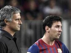 Mourinho admires Messi. EFE