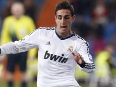 José Rodríguez recordó su debut con el Madrid ante el Alcoyano. EFE