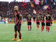 Martinez ties own record as Atlanta beat Galaxy. Twitter/ATLUTD