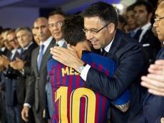 El Barça anunció una reducción en los salarios de los jugadores. EFE