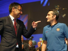 O Barça comunicou ao elenco o final da novela Neymar. EFE