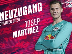 Josep Martínez continuará creciendo en el RB Leipzig. Twitter/RBLeipzig