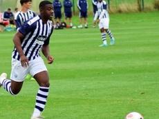El joven futbolista interesa a varios equipos de la Premier. Twitter/WBA