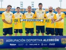 El Alcorcón presentó a sus seis fichajes. Alcorcón