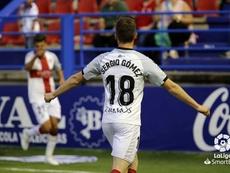 Sergio Gómez apoyó la candidatura de Ramos para los Juegos. LaLiga