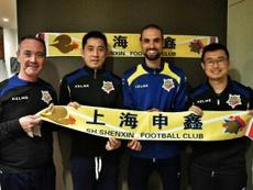 Juan Ignacio Martínez, entrenador del Shanghai Shenxin. CFHércules