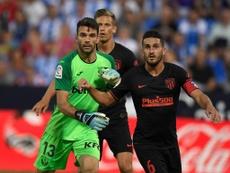 Juan Soriano debutó en partido oficial con el Leganés. Twitter/CDLeganés