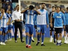 El Málaga mandó un mensaje de agradecimiento a los suyos. Twitter/MalagaCF