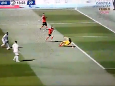 Gran jugada, pero sin gol. Captura/RealMadridTV